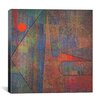 "iCanvas ""Ad Parnassum"" Canvas Wall Art by Paul Klee"