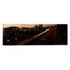 iCanvas Panoramic Aerial View at Dusk, Seattle, Washington State Photographic Print on Canvas