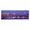 iCanvas Panoramic Dusk, West Side, New York City, U.S. Photographic Print on Canvas