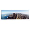 iCanvas Panoramic Aerial View of a City, Chicago, Illinois Photographic Print on Canvas