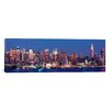 iCanvas Panoramic Dusk, West Side, New York City Photographic Print on Canvas