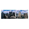 iCanvas Panoramic Aerial View of a River, Chicago River, Chicago, Illinois Photographic Print on Canvas