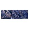 iCanvas Panoramic Aerial View of Buildings in a City, Manhattan, NYC, New York City, New York State Photographic Print on Canvas
