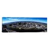iCanvas Panoramic Aerial View of a Cityscape, Newark, Essex County, New Jersey Photographic Print on Canvas