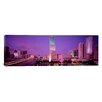 iCanvas Panoramic City in the Dusk, Miami, Florida Photographic Print on Canvas