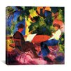 """iCanvas """"At the Garden Table"""" Canvas Wall Art by August Macke"""