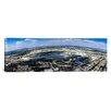 iCanvas Panoramic Aerial View of an Airport, Midway Airport, Chicago, Illinois Photographic Print on Canvas