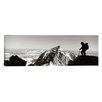 iCanvas Panoramic Hiker, Grand Teton Park, Wyoming Photographic Print on Canvas