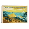 iCanvas 'ASA-Coastal California Horiz' by Anderson Design Group Vintage Advertisment on Canvas