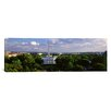 iCanvas Panoramic Aerial, White House, Washington D.C, District of Columbia Photographic Print on Canvas