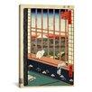 iCanvas Ando Hiroshige 'Asakusa Ricefields and Torinomachi Festival, 1857' by Utagawa Hiroshige l Graphic Art on Canvas