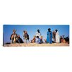iCanvas Panoramic Tuareg Camel Riders, Mali, Africa Photographic Print on Canvas