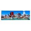 iCanvas Panoramic Summer Chicago, Illinois Photographic Print on Canvas
