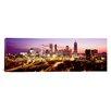 iCanvas Panoramic Night, Atlanta, Georgia Photographic Print on Canvas
