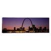 iCanvas Panoramic St Louis, Missouri Photographic Print on Canvas