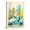 iCanvas '1967 Vespa' by Anderson Design Group Vintage Advertisement on Canvas