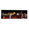 iCanvas Panoramic Las Vegas, Clark County, Nevada 2011 Photographic Print on Canvas