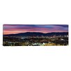 iCanvas Panoramic Culver City, Santa Monica Mountains and West Los Angeles, California Photographic Print on Canvas