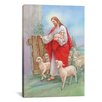 iCanvas 'Jesus Sheperd' by Christo Monti Painting Print on Canvas