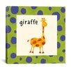 iCanvas Giraffe Canvas Wall Art from Esteban Studio Collection