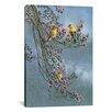 iCanvas 'Gold Finches' by Wanda Mumm Photographic Print on Canvas