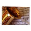 iCanvas Photography Saxophone Photographic Print on Canvas