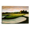 iCanvas Golf Course 8 by William Vanderdasson Painting Print on Canvas