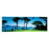 iCanvas Panoramic Golf Course with Golden Gate Bridge in San Francisco, California Photographic Print on Canvas