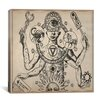 iCanvas Esoteric Figure Drawing Graphic Art on Canvas