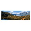 iCanvas Panoramic Horse Trekking Mt Cook New Zealand Photographic Print on Canvas