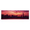 iCanvas Panoramic Hudson River New York, New York City Photographic Print on Canvas