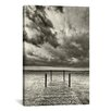 iCanvas 'First Droplets Monochrome' by Geoffrey Ansel Agrons Photographic Print on Canvas