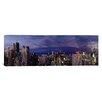 iCanvas Panoramic Evening Chicago, Illinois Photographic Print on Canvas