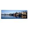 iCanvas Panoramic Lake Union, Seattle, King County, Washington State Photographic Print on Canvas