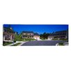 iCanvas Panoramic Houses Along A Road, Seaberry, Baltimore, Maryland Photographic Print on Canvas
