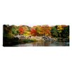 iCanvas Panoramic Central Park, New York City Photographic Print on Canvas