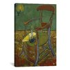 iCanvas 'Gauguin's Chair' by Vincent Van Gogh Painting Print on Canvas