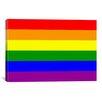 iCanvas Lesbian Rainbow Flag Graphic Art on Canvas