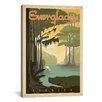 iCanvas Everglades National Park by Anderson Design Group Vintage Advertisement on Canvas