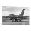 iCanvas Photography F-16 Fighter Plane Photographic Print on Canvas