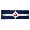 iCanvas Indianapolis Flag, Motor Speedway Panoramic Graphic Art on Canvas