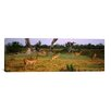 iCanvas Panoramic 'Herd of Impalas Grazing in Moremi Wildlife Reserve, Botswana' Photographic Print on Canvas