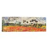 "iCanvas ""Field of Poppies"" by Vincent van Gogh Painting Print on Wrapped Canvas"
