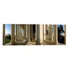 iCanvas Panoramic Columns of a Memorial, Jefferson Memorial, Washington, D.C Photographic Print on Canvas