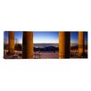 iCanvas Panoramic Columns of the Funeral Chapel, Rotenberg, Stuttgart, Germany Photographic Print on Canvas