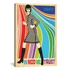 iCanvas 'In Mod We Trust' by Anderson Design Group Graphic Art on Canvas