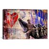 """iCanvas """"In the Name of Love"""" by Luz Graphics Graphic Art on Canvas"""