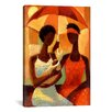 iCanvas 'In the Shade' by Keith Mallett Painting Print on Canvas