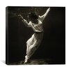 "iCanvas ""Fashion Model Underwater in Dolphin Tank, Marineland, Florida"" Canvas Wall Art by Toni Frissell"