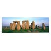 iCanvas Panoramic England, Wiltshire, Stonehenge Photographic Print on Canvas